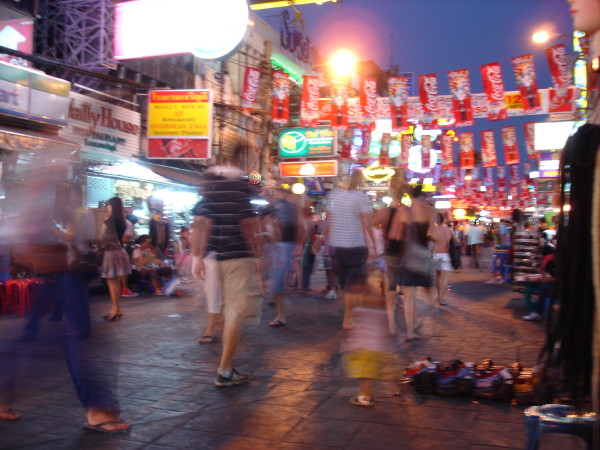 One Night in Bangkok (Well, really four)