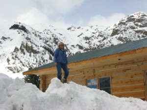 Mom at home 300x225 Snowy Silverton, Colorado