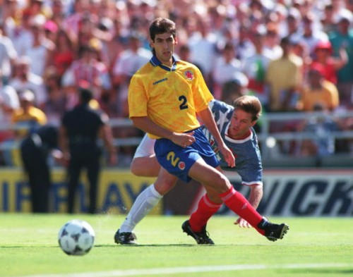 andres escobar There are Two Os in Colombia Boys *