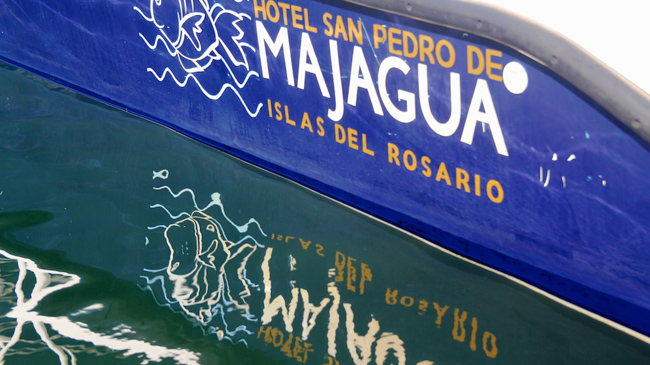 Our boat to Majagua