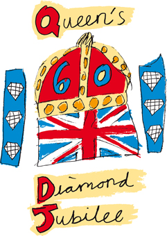 DJ Logo Londons Diamond Jubilee   What to Do