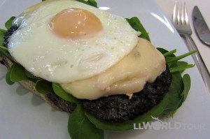 Egg & Portobello Sandwich