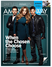 Amer Way Cover March 2012 Published Writing & Media Coverage