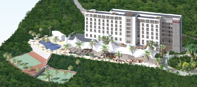 New marriott hotel to open in haiti for Canape vert haiti