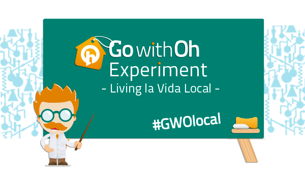 GowithOh Experiment BIG Go with Oh Berlin: Getting Local Experiment