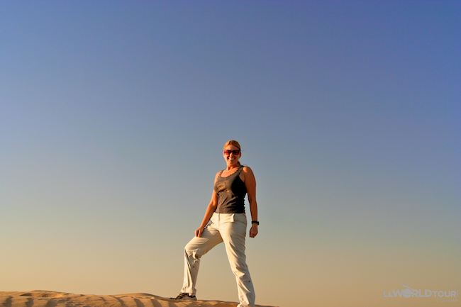 Sand Boarding in Dubai