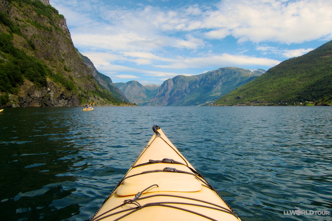 Flam Kayaking
