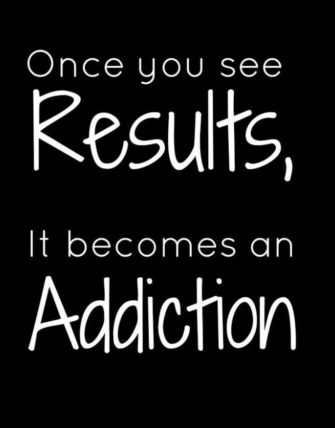 once u see results
