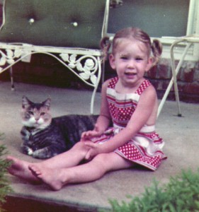 Me and Pookie the cat