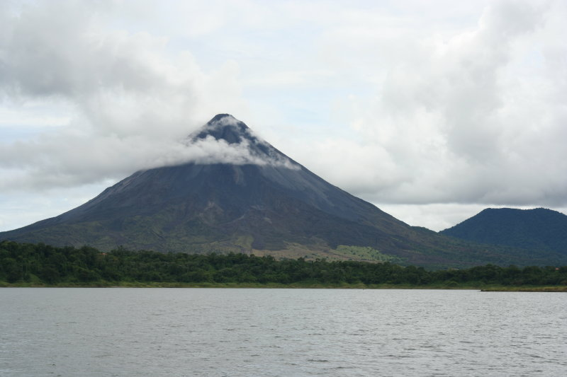 Arenal from Lake Arenal