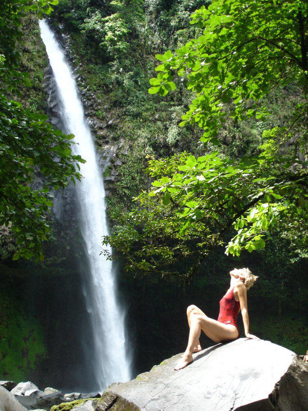 Waterfalls in La Fortuna - what is pura vida