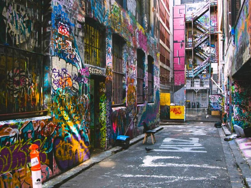 Street art: Hosier Lane