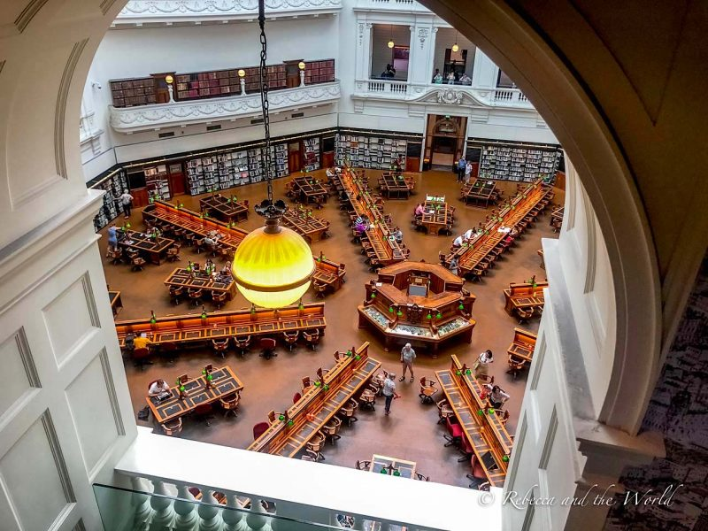 Things to do in Melbourne_State Library Victoria