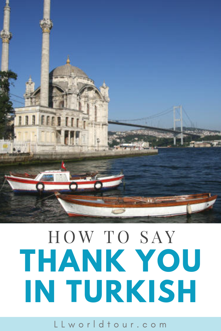 thank you in turkish