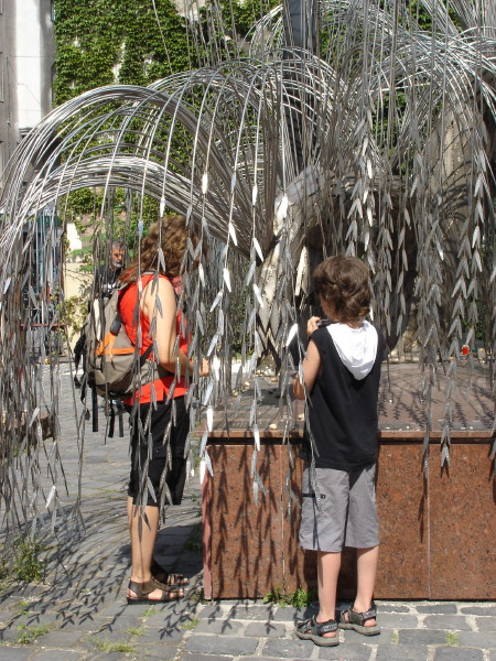 Never Forget--Weeping Willow Sculpture