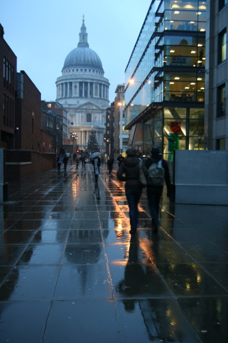Rainy London Day