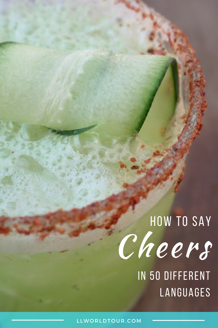 How to say Cheers in other languages