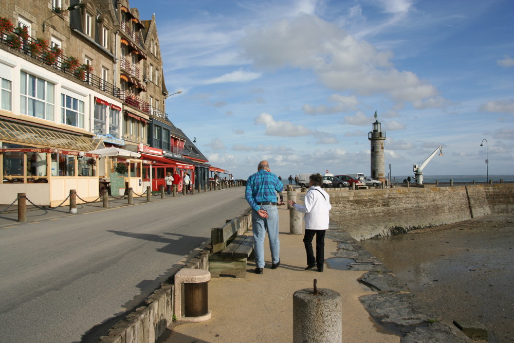 Cancale Harbor
