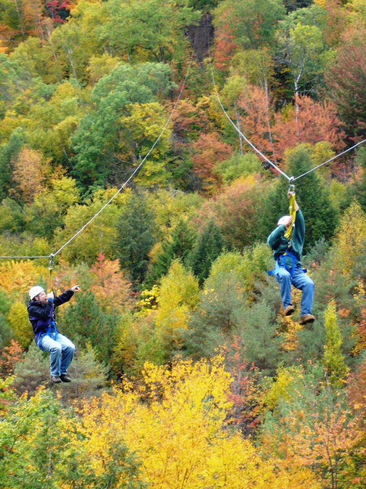 Zipline in New Hampshire