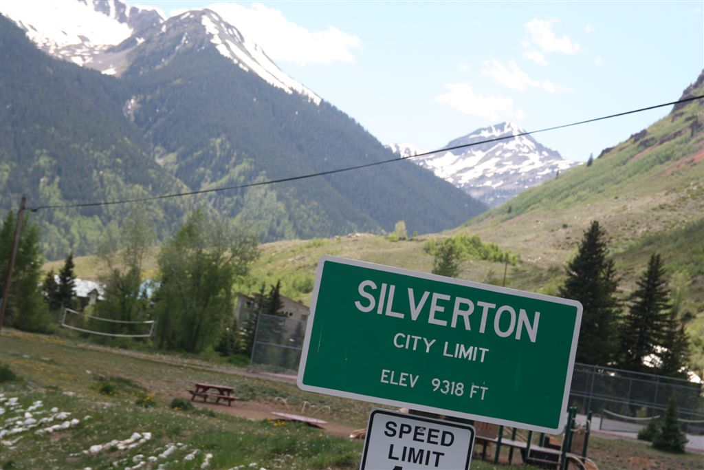 Welcome to Silverton, CO