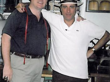 Kevin Fitzpatrick and Andy Garcia