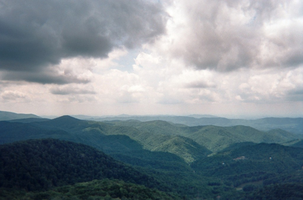The Roan Highlands from the Appalachian Trail