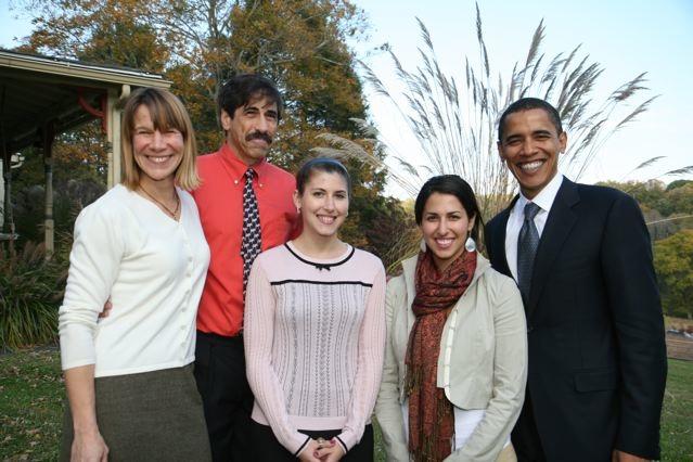 Dino Don's family & President Obama