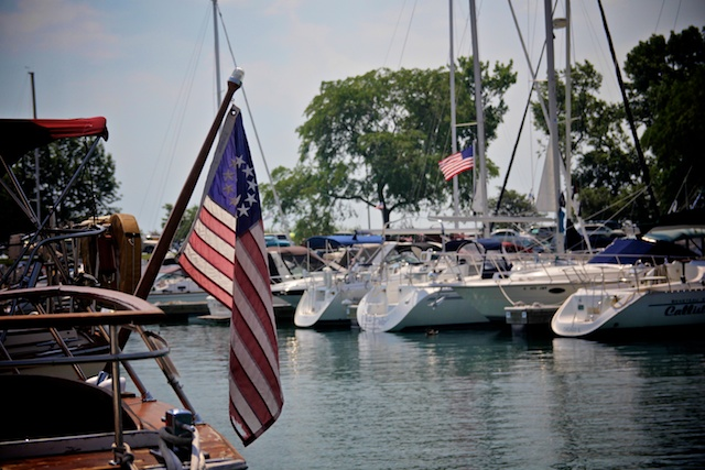 boating on Lake michigan - Outdoor activities in Chicago