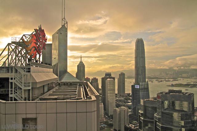 View from Shangri-La Hong Kong