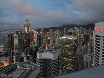 Shangri La Hotel - THE View from my room