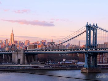 Manhattan Bridge & NYC Skyline