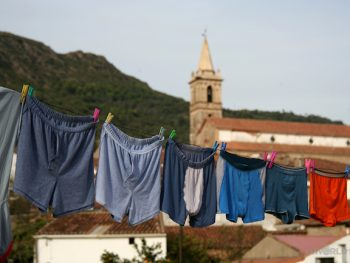 Underwear in Aracena, Spain