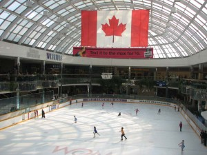 west edmonton mall ice skating rink