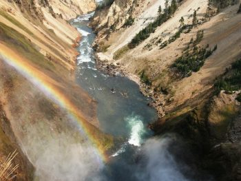 Yellowstone's Grand Canyon