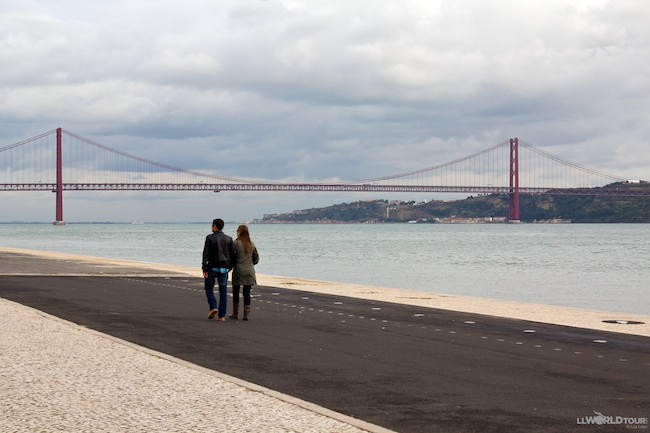 "Lisbon's ""Golden Gate"" Bridge"