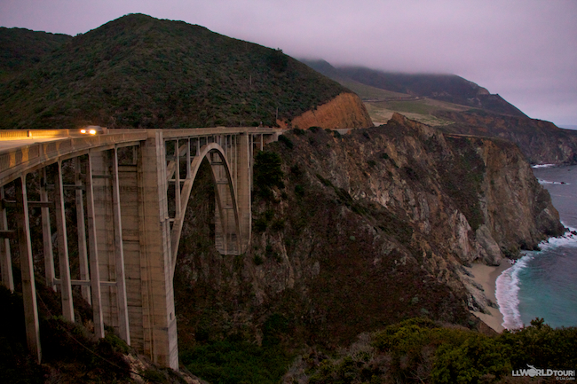 Bixby Bridge on Big Sur Road trip