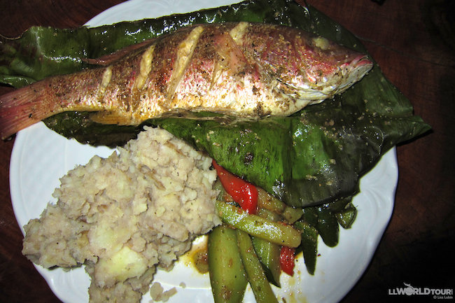 Grilled Fish at Gringo Curts