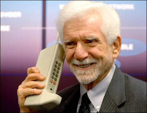 Big old cell phone