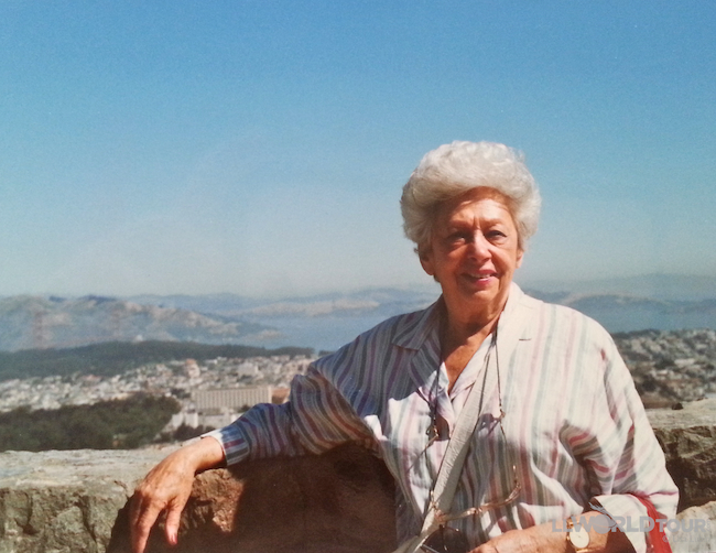 Grandma in San Francisco