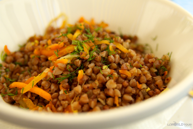 St Petersburg Food - Buckwheat