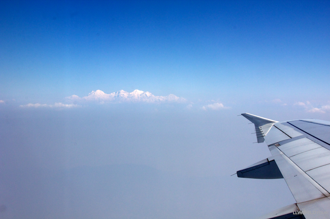 Himalayas in the Distance