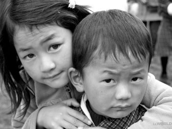 Brother and Sister Bhutan