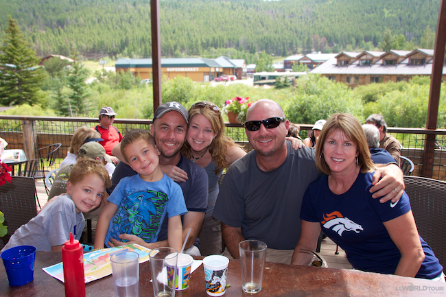 Boulder with Family