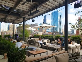 Aba Chicago - Outdoor dining in Chicago