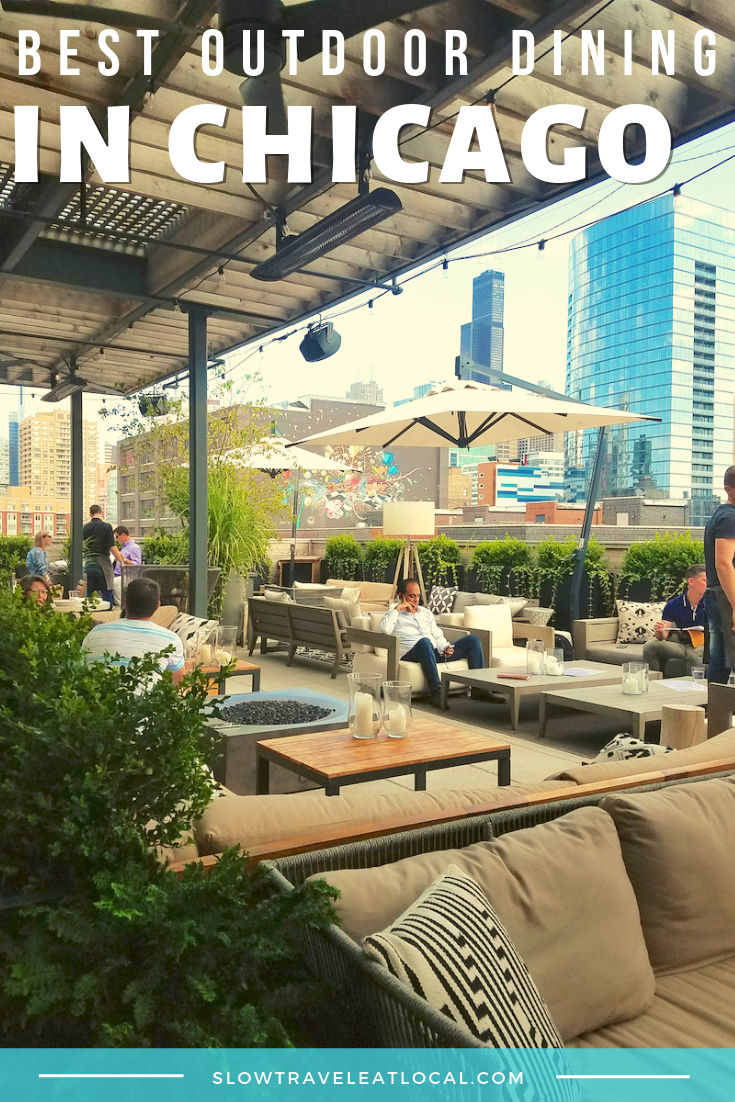 best outdoor dining in Chicago