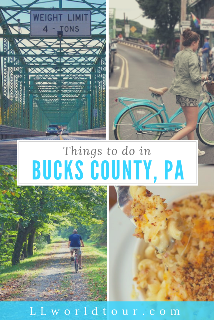 Things to do in Bucks County PA