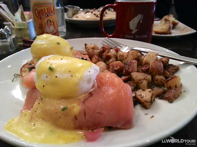 Eggs Benedict Chicago