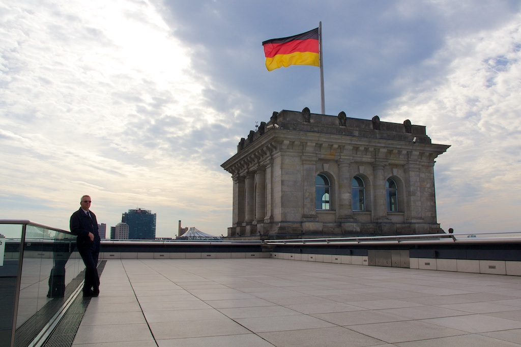 Top of Reichstag