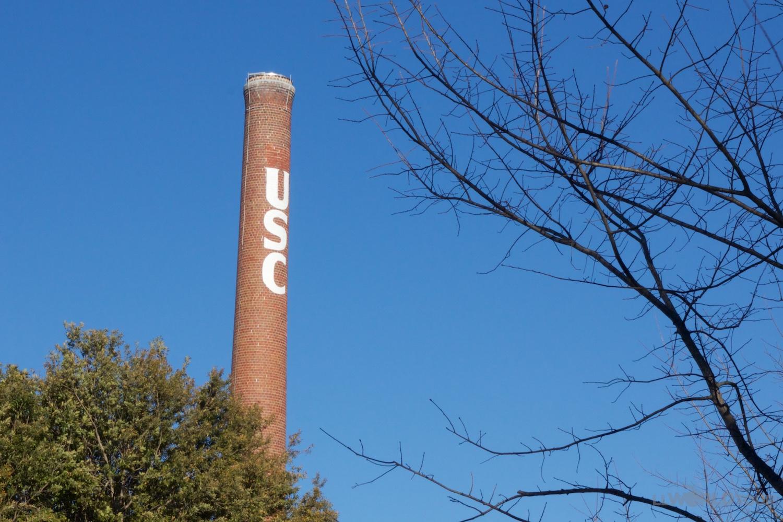 USC Columbia Smokestack