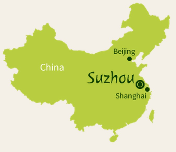Suzhou Map